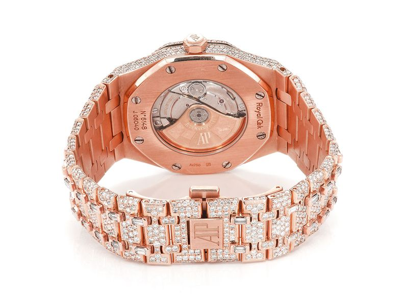 Audemars Piguet Royal Oak 18K  Iced Out