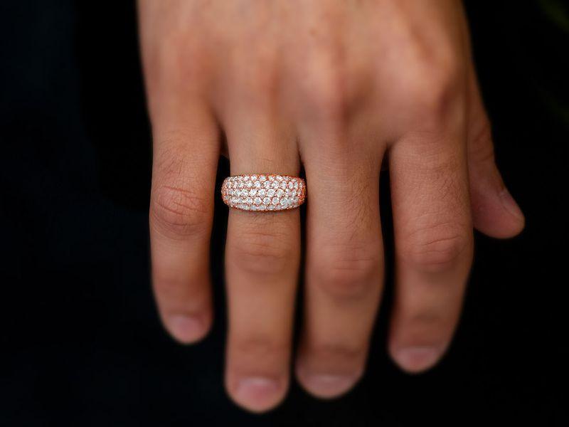Bubbly Ring 14K   3.15ctw