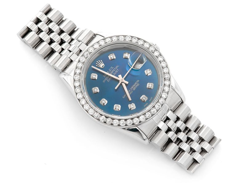 Rolex Datejust 2.11ctw Steel