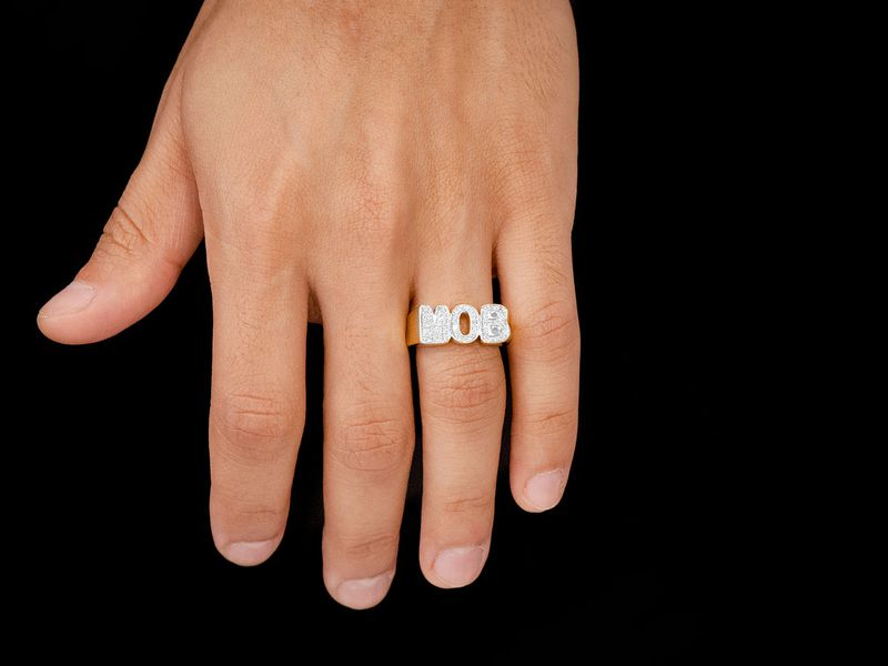 MOB Ring 14K   0.34ctw