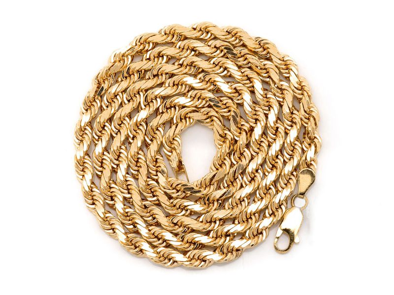 5mm Rope 14K   Chain