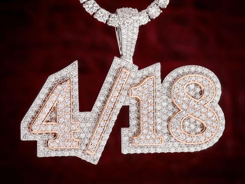 Custom Double Layer Letters 14K