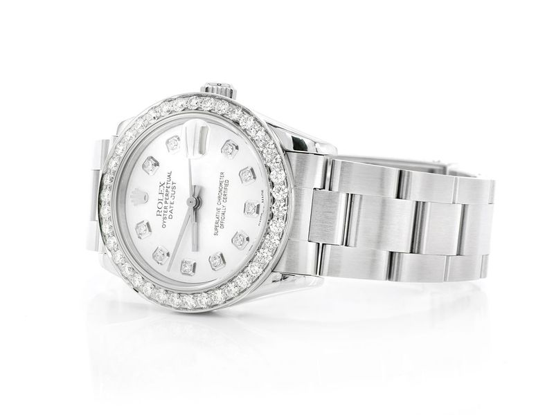 Pre-owned  Datejust Midsize 31mm  SS  1.53ctw