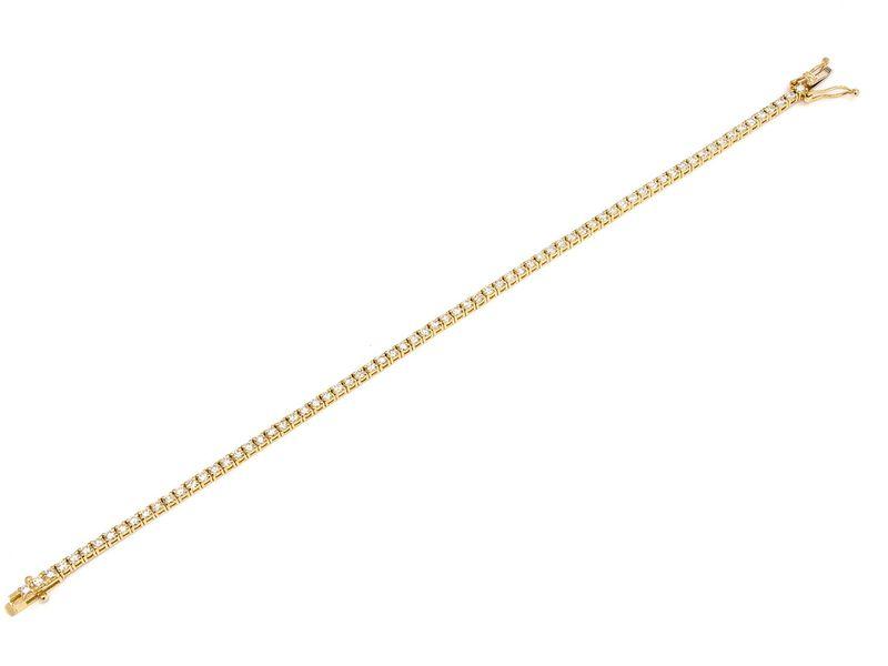 Tennis Bracelet 14K   2.45ctw