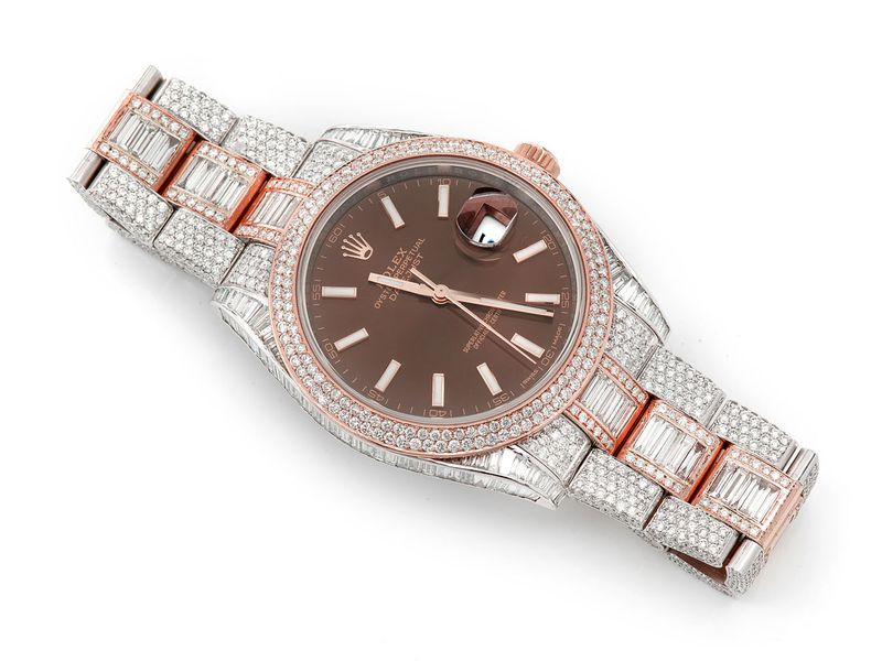 Pre-owned  Datejust 41MM  18K/SS  19.91ctw