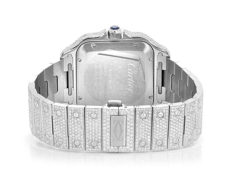 Cartier Santos Steel  19.60ctw