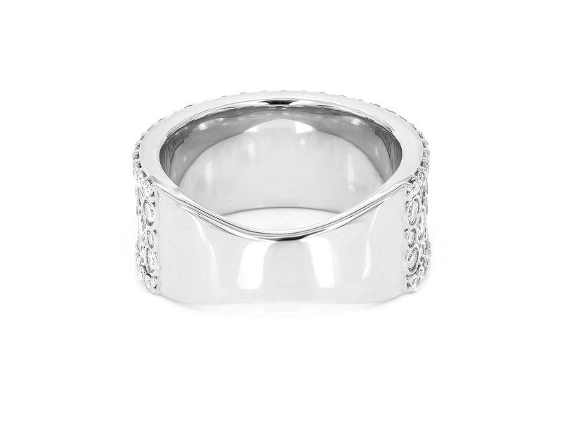 Clara Bezel Band Ring 14K   1.66ctw
