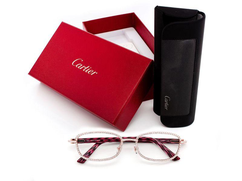 Cartier Glasses 14K 5.66ctw