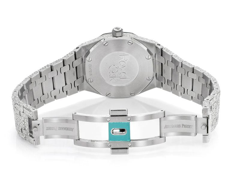 Audemars Piguet Royal Oak Stainless  17.50ctw