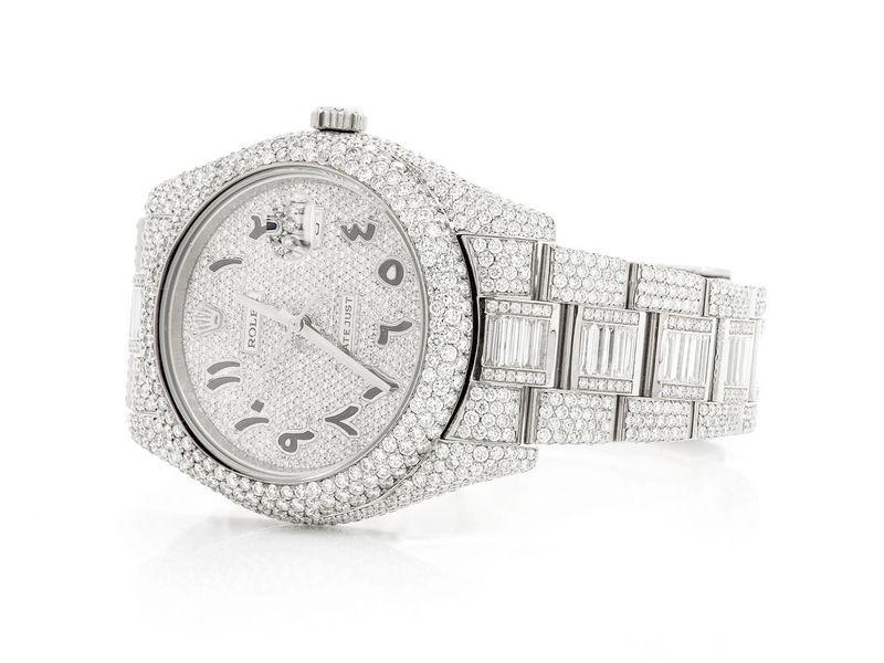 Rolex Datejust 2 23.29ctw SS
