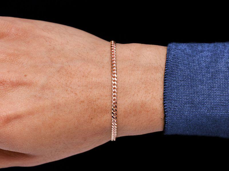 3.25mm Miami Cuban 14K   Bracelet