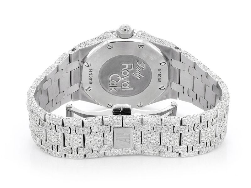 Audemars Piguet Royal Oak Steel  Iced-Out