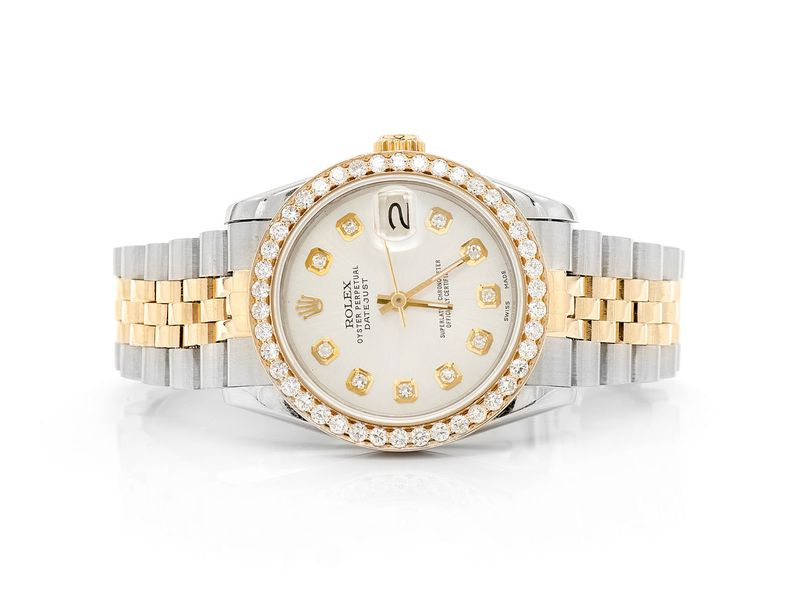 Pre-owned Rolex Datejust 31mm 18K/SS  -