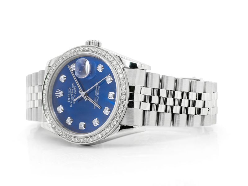Pre-owned  Datejust 36mm  SS  0.99ctw