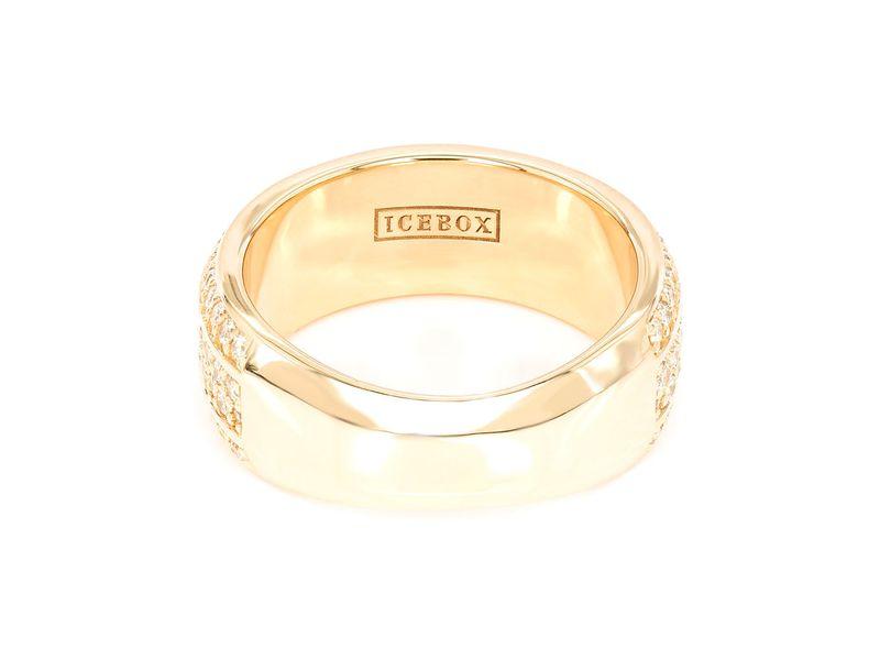 Yael 4 Row Beveled Band  Ring 14K   1.45ctw