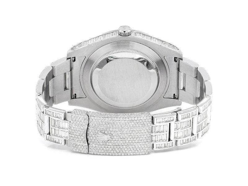 Rolex Datejust 23.12ctw Steel