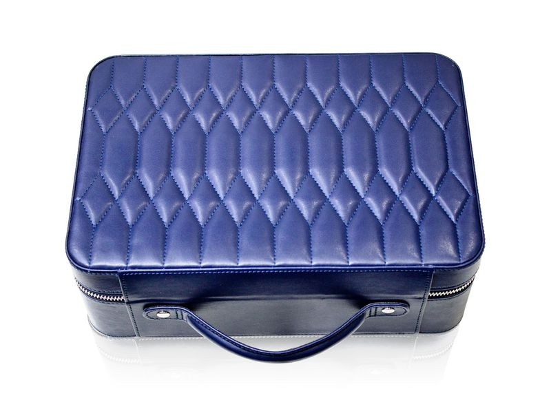 Icebox World Travelers Jewelry  Case Materials