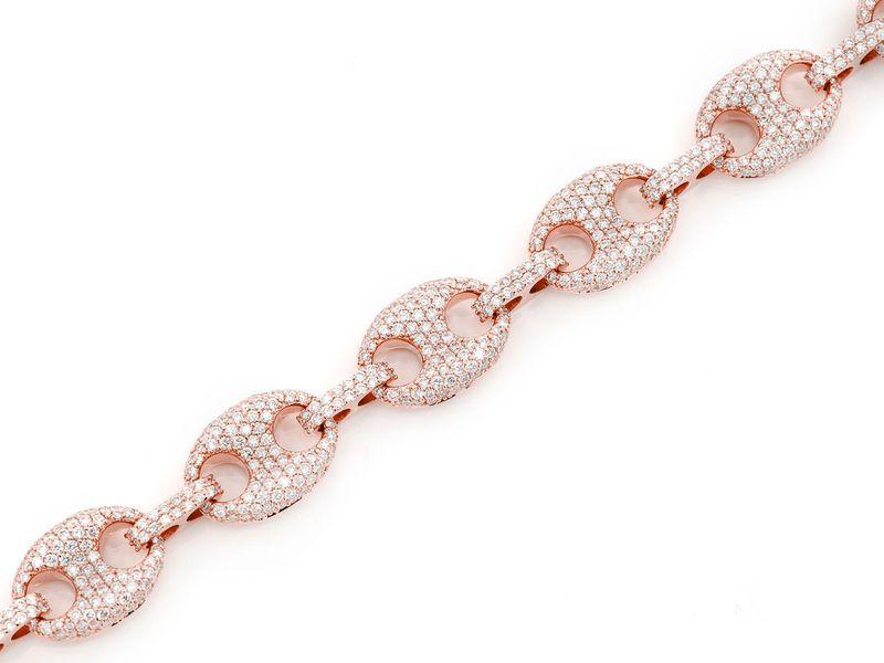 Mariner Link Bracelet 14K   7.05ctw