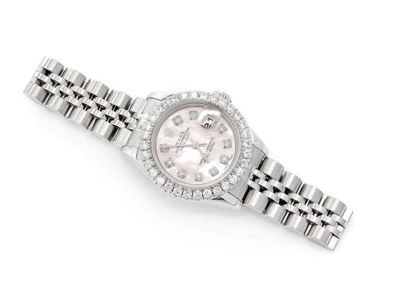Rolex Datejust 1.29ctw Steel