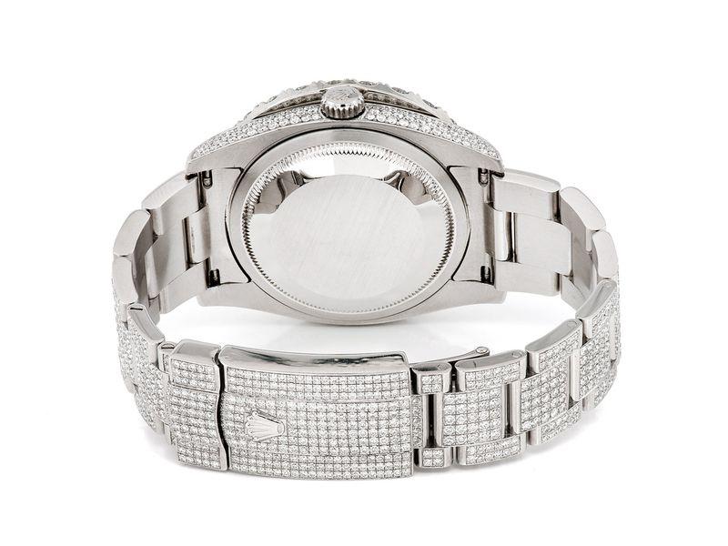 Rolex Datejust 18.92ctw St. Steel