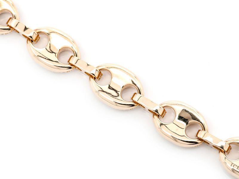 Mariner Link Bracelet 14K   11.20ctw