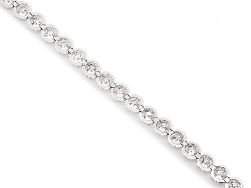 Tennis Bracelet 14K   2.75ctw