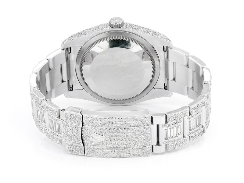 Rolex DateJust 13.11ctw SS
