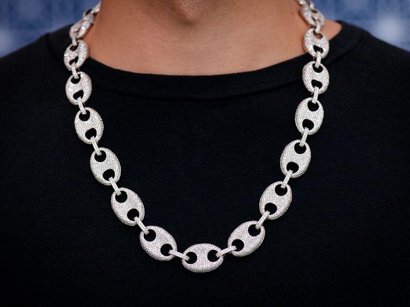 Mariner Link Necklace 14K   40.40ctw