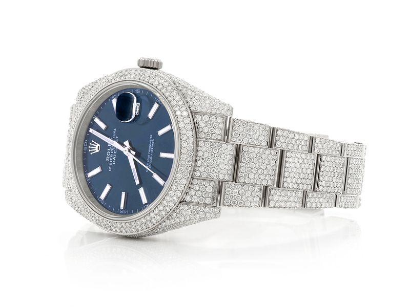 Rolex Datejust 20.75ctw SS