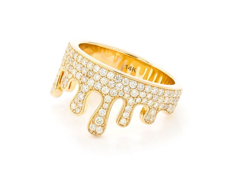 Drippy Ring 14K   1.43ctw