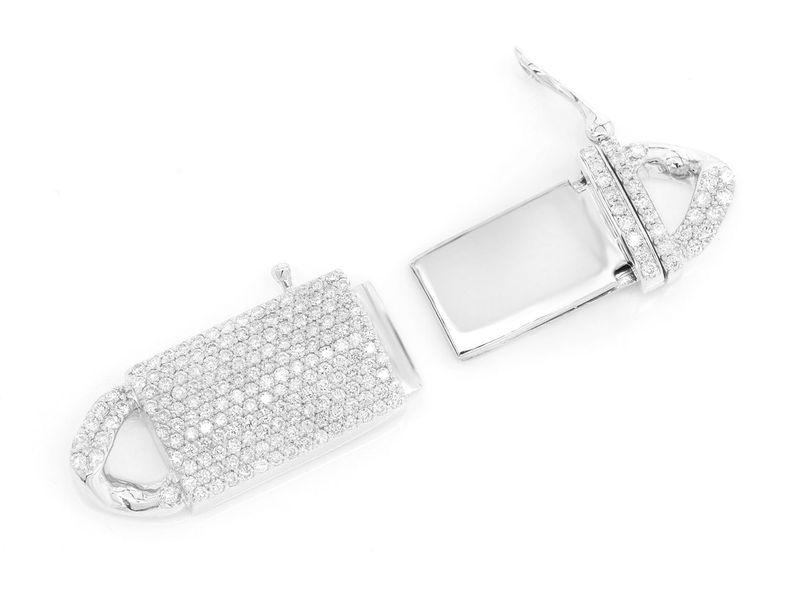 Icebox 12MM Diamond Cuban Clasp 14K   2.05ctw