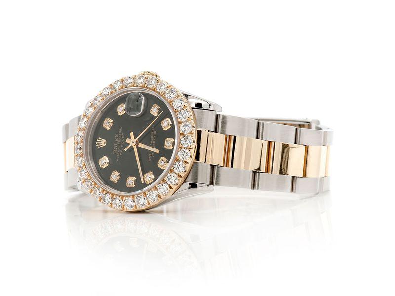Rolex Datejust 2.65ctw 18K/SS