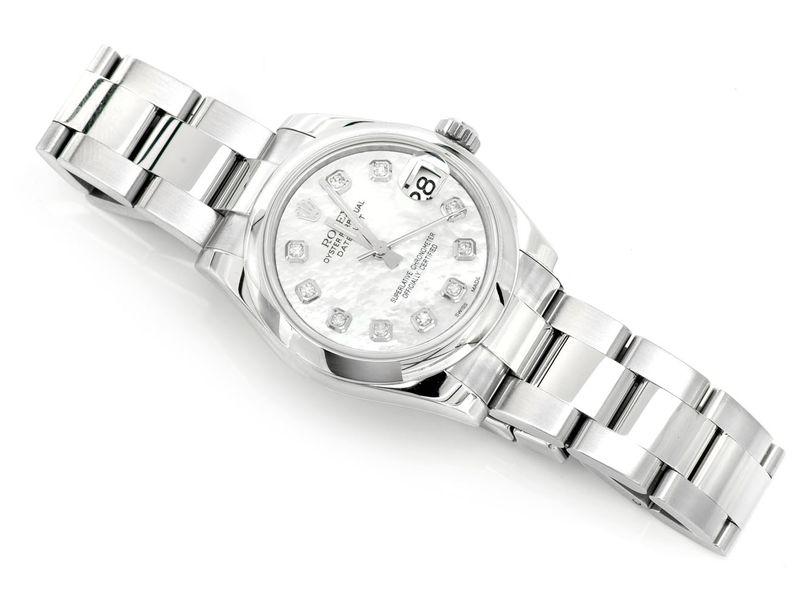 Rolex Datejust Midsize Plain Steel