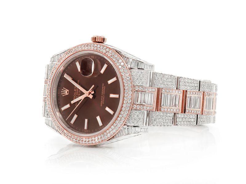 Rolex Datejust 19.91ctw 18K/SS