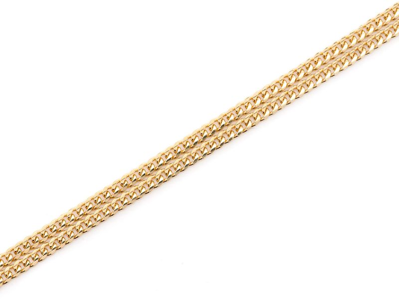 2mm Miami Cuban 14K   Bracelet