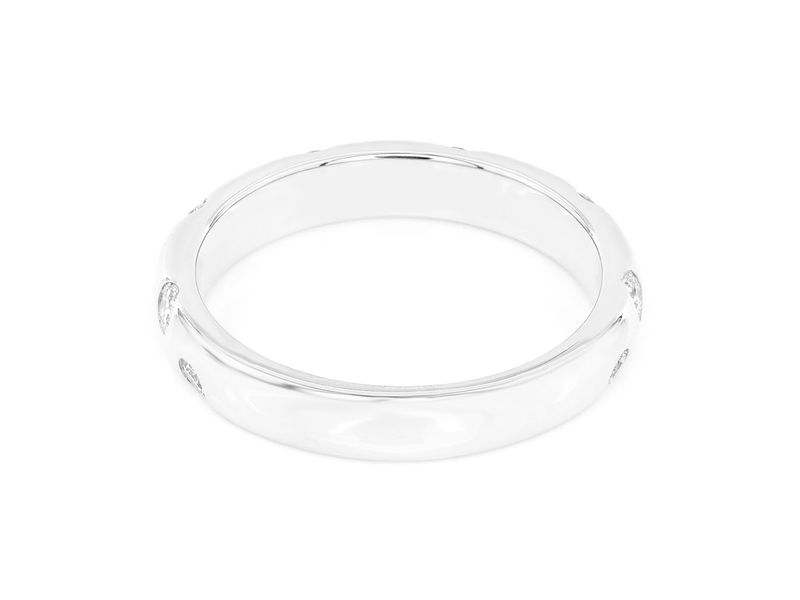Darla Gypsy Set Band Ring 14K   0.41ctw