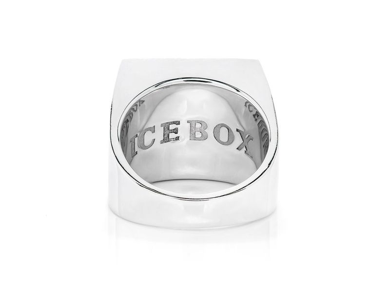 The Icebox Square Ring 14K   1.48ctw