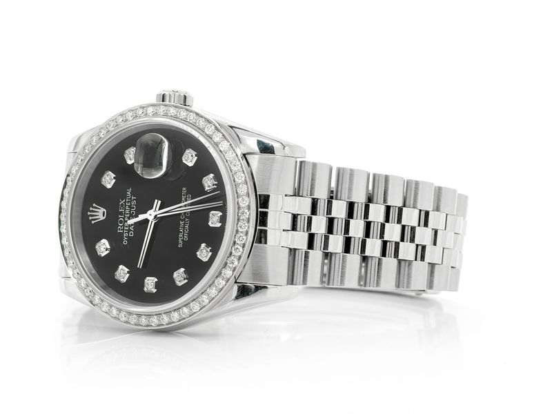 Rolex Datejust 0.97ctw Steel