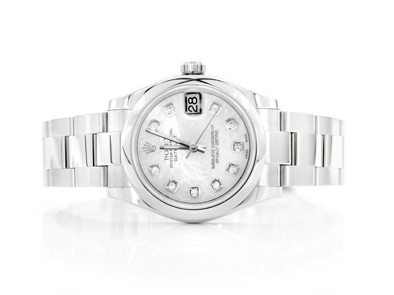 Pre-owned  Datejust Midsize 31mm  Stainless