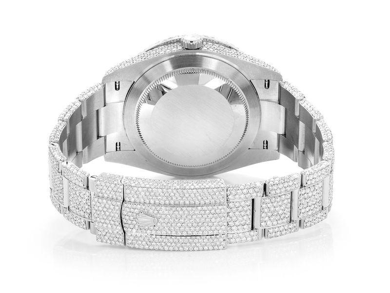 Rolex Datejust Steel  27.70ctw