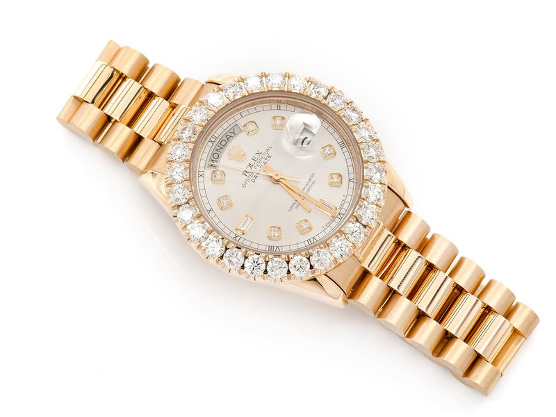 Rolex Day-Date 5.39ctw 18K