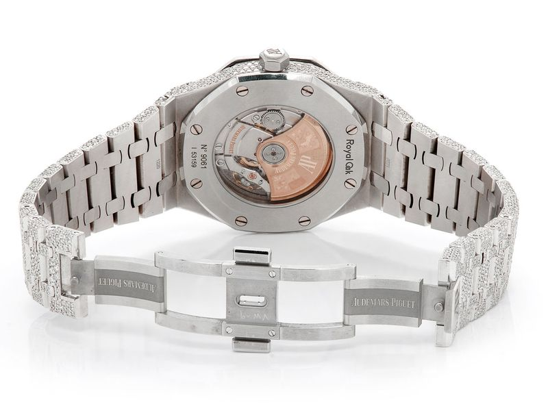 Custom Audemars Piguet Royal Oak -  Male 7.15ctw