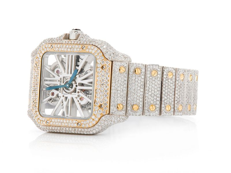 Cartier Watch 18K/SS  19.07ctw