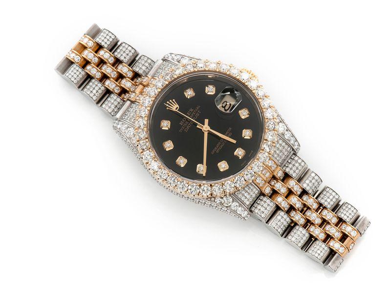 Rolex Datejust 13.05ctw SS/18K