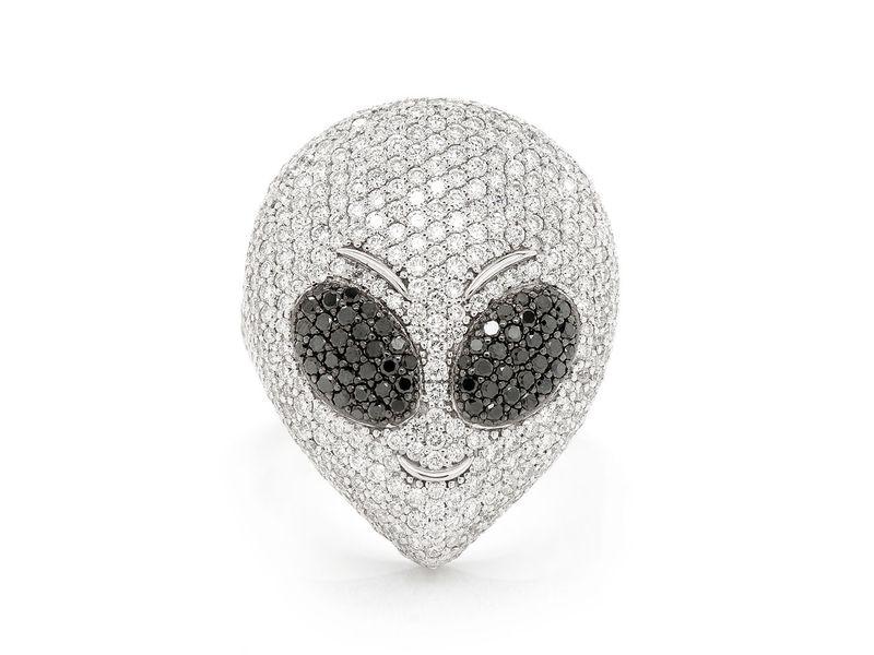 Alien Ring 14K   5.60ctw
