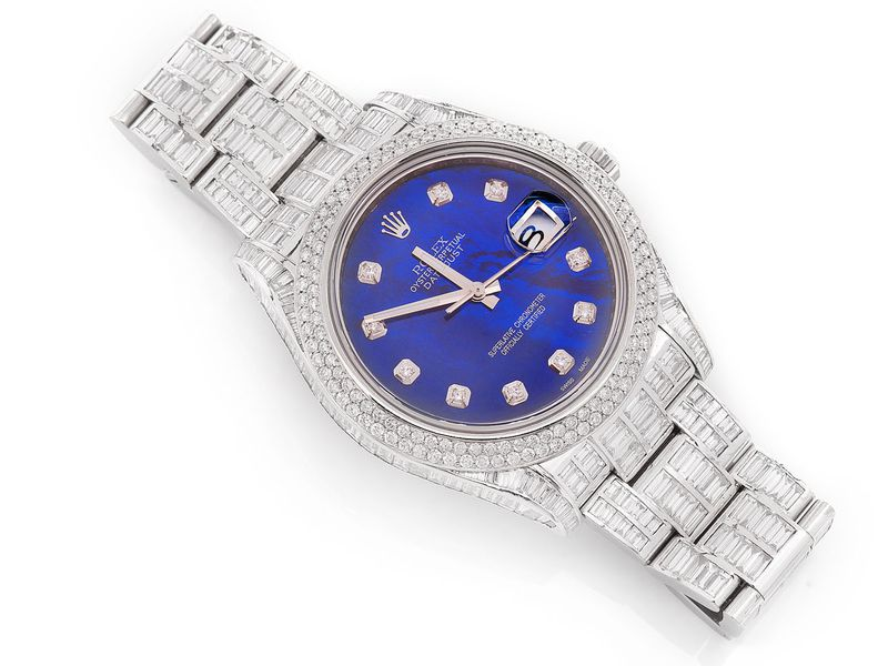 Pre-owned  Rolex DateJust 41mm  SS  23.12ctw