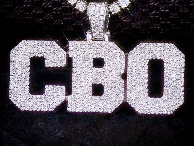 Custom Large Jersey Letters Borderless 14K