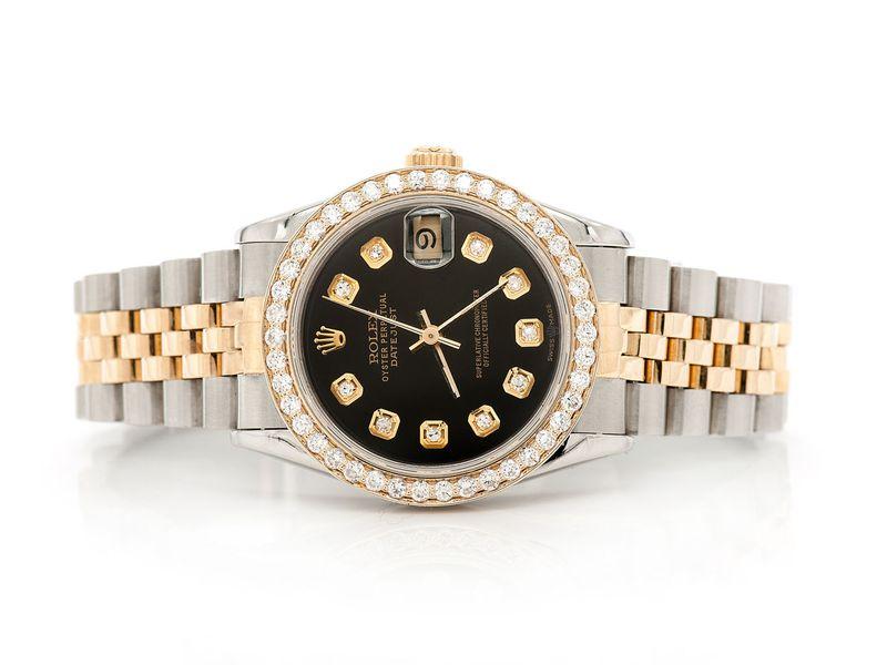 Rolex Datejust Plain 18K/SS