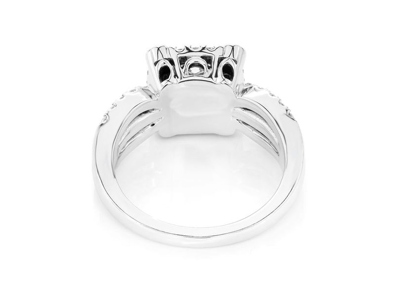 Two Tier Ring 14K   0.76ctw