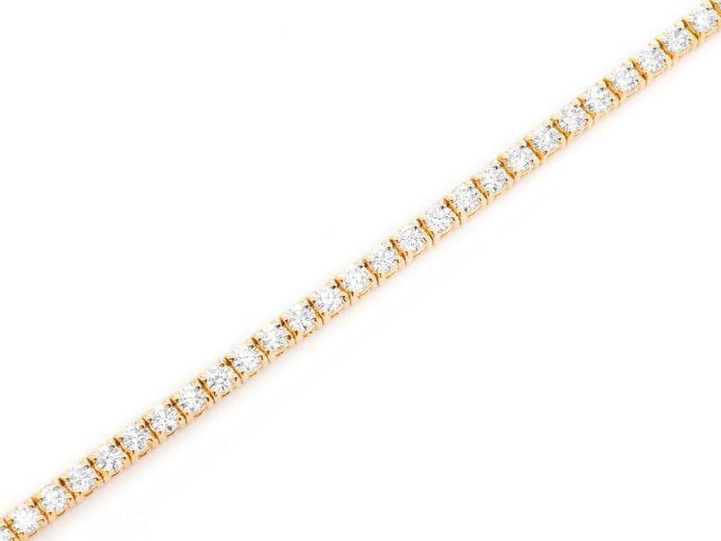 4pt Tennis Bracelet 14K   2.75ctw
